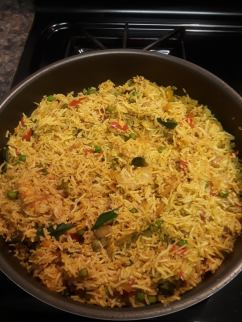 Veg Fried Rice or Tehri