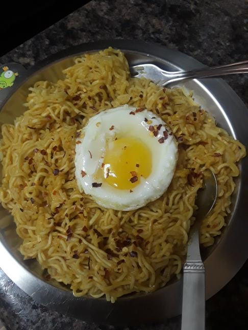 My husband's version of Nasi Goreng